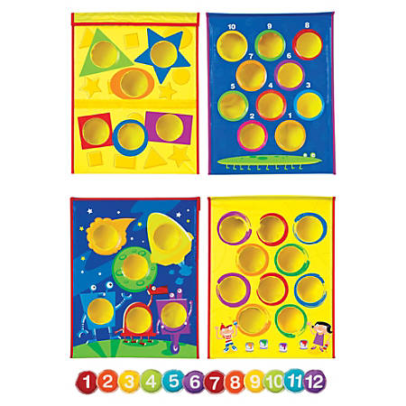 Learning Resources® Smart Toss™ Bean Bag Tossing Game, Pre-K - 1st Grade