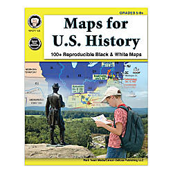Mark Twain Media Maps For US