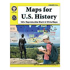 Mark Twain Media Maps For US