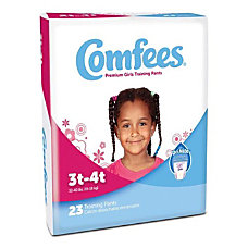 Attends Comfees Training Pants Girl Size