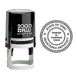 2000 PLUS R50 Self Inking Round