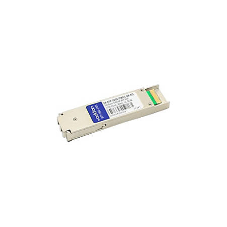 AddOn Juniper Networks Compatible TAA Compliant 10GBase-DWDM 100GHz XFP Transceiver (SMF, 1536.61nm, 80km, LC, DOM)