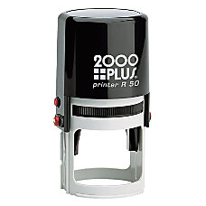 2000 PLUS Self Inking Notary Stamp