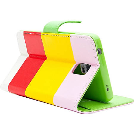 i-Blason Carrying Case (Book Fold) Smartphone - Hue