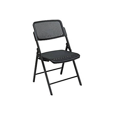 Awe Inspiring Office Star Pro Line Ll Progrid Big And Tall Folding Chair Black Set Of 2 Item 1846306 Dailytribune Chair Design For Home Dailytribuneorg