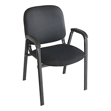 reputable site 63028 02a7d Realspace® Stacking Guest Chair, Black Item # 184746