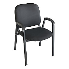 Realspace Stacking Guest Chair Black