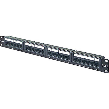 Belkin 24 ports Cat5 Patch Panel - 24 x RJ-45