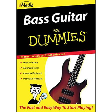 Bass Guitar For Dummies (MAC), Download Version
