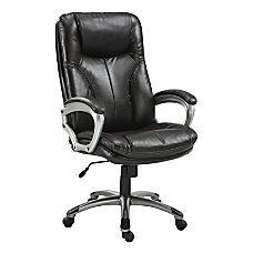 Serta Big Tall Puresoft Faux Leather