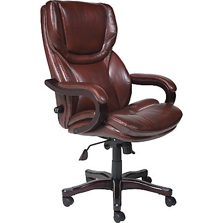 Serta Executive Big And Tall Office Chair Eco Conscious Bonded