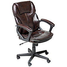 Serta Managers Office Chair Puresoft Faux