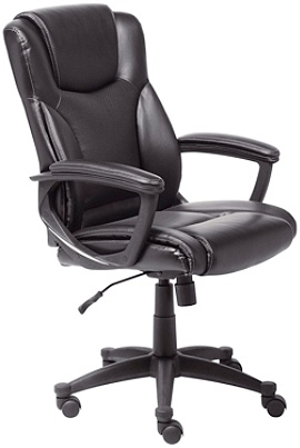 Serta Executive Office High Back Chair Black Use And Keys To Zoom In Out Arrow Move The Zoomed Portion Of Image