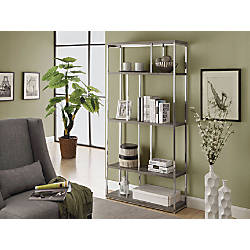 Monarch Specialties 4 Shelf Bookcase With