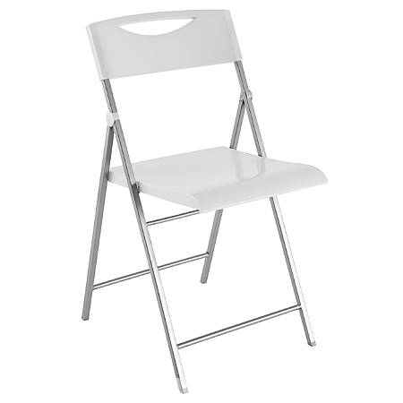Alba CPSMILE Chair, White, Set Of 2