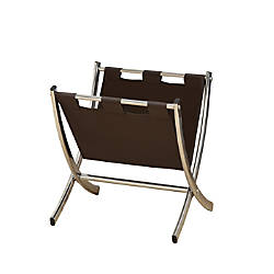 Monarch Specialties Chrome Magazine Rack 15