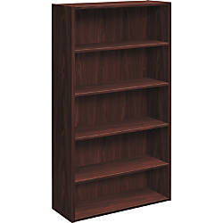 HON Foundation 5 Shelf Bookcase 32