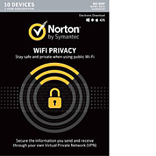 Norton WiFi Privacy VPN 10 Device