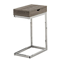 Monarch Specialties Accent Table With Side