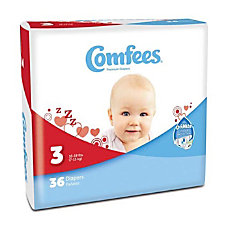 Attends Comfees Baby Diapers Size 3