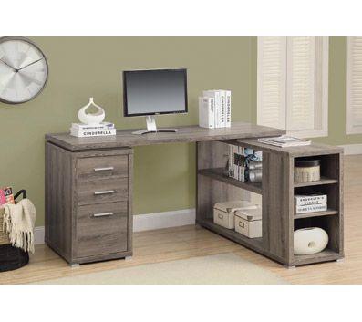 Monarch Specialties LeftRight Facing Corner Desk 30 H x 60 W x 47