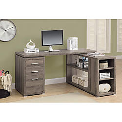 Monarch Specialties LeftRight Facing Corner Desk