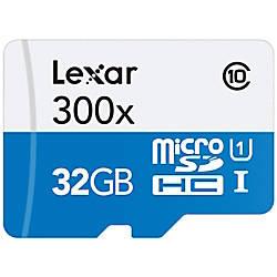 Lexar microSDHC High Performance UHS 1