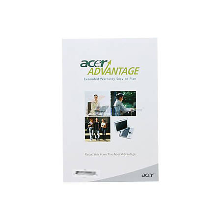 Acer Extended Warranty Plus - 2 Year Extended Service - Warranty - 1 Business Day - Carry-in - Maintenance - Parts & Labor - Electronic and Physical Service