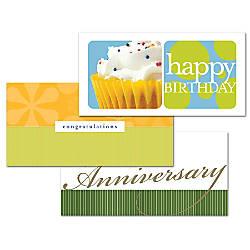 Custom Full Color Greeting Cards White