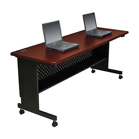 """Balt® Agility Table, Rectangle, 60""""H x 30""""W, Mahogany"""