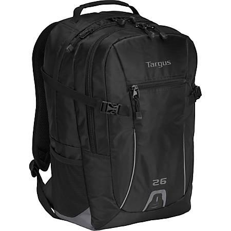 Targus Sport 26L TSB712US Laptop Backpack, Black