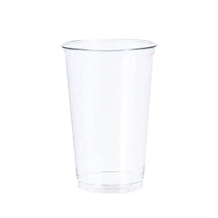 Dart® Ultra Clear™ PET Cups, 20 Oz, Clear, 50 Cups Per Bag, Carton Of 12 Bags