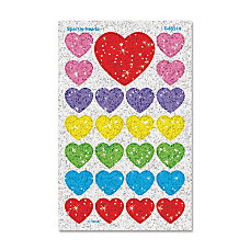 TREND superShapes Stickers Sparkle Hearts Pack