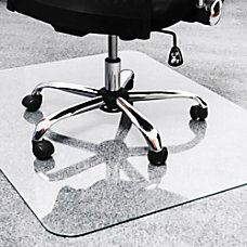 Floortex Glaciermat Glass Chairmat Home Office
