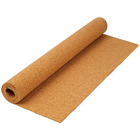 """FORAY™ Non-Skid Cork Roll, 24"""" x 48"""", Tan"""