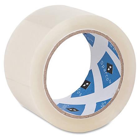 "Sparco Premium Heavy-duty Packaging Tape Roll - 2"" Width x 55 yd Length - 3"" Core - Acrylic Backing - Heavy Duty - 36 / Carton"