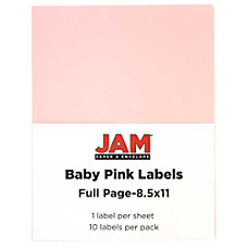 JAM Paper Full Page Mailing And