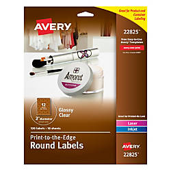 Avery Easy Peel TrueBlock Print To