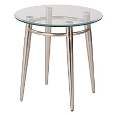 Ave Six Brooklyn Glass Top Table