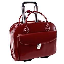 McKleinUSA Granville Leather Wheeled Ladies Briefcase
