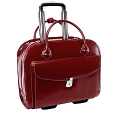 McKleinUSA Granville Leather Wheeled Ladies Briefcase