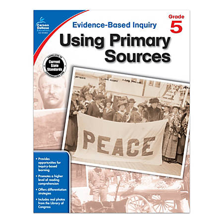 Carson-Dellosa® Using Primary Sources Workbook, Grade 5