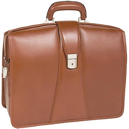 Mckleinusa 156 Leather Partners Laptop Briefcase