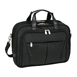 McKleinUSA Pearson Nylon Expandable Briefcase With