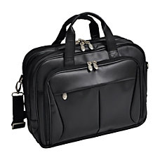 McKleinUSA Pearson Leather Expandable Briefcase With