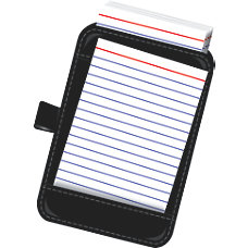 Office Depot Brand Note Card Case