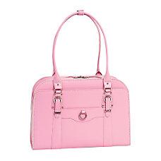 McKleinUSA Hillside Leather Ladies Briefcase Pink