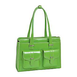 McKleinUSA 14 Leather Ladies Laptop Briefcase