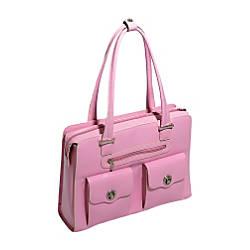 McKleinUSA Verona Leather Ladies Briefcase Pink