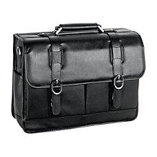 McKleinUSA Beverly Leather Laptop Case Black